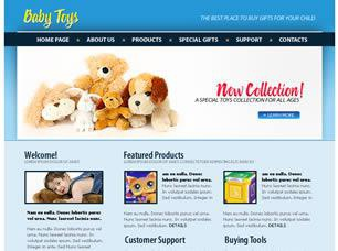 Baby Toys Free CSS Template