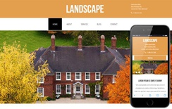 Landscape a Real Estate Category Flat Bootstrap Responsive Web Template