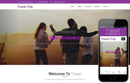Travel Trip Travel Category Bootstrap Responsive Web Template