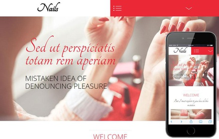 Nails a Beauty and Spa Category Flat Bootstrap Responsive Web Template
