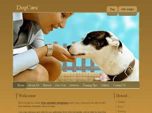 DogCare Free CSS Template