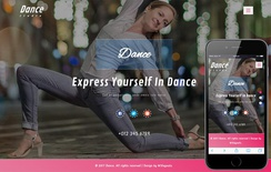 Dance an Entertainment Category Bootstrap Responsive Web Template