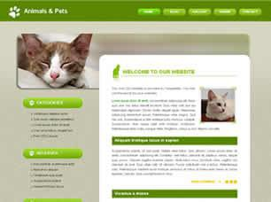 Animals & Pets Free CSS Template
