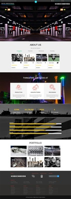 Excel Industries a Industrial Flat Bootstrap Responsive Web Template