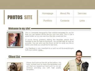 Photos Site Free CSS Template