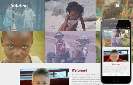 Solutem a Charity Category Flat Bootstrap Responsive Web Template