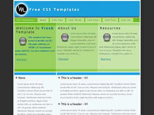 Fresh Free CSS Template
