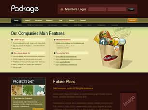 Package Free CSS Template