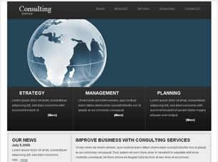 Consulting Services Free CSS Template