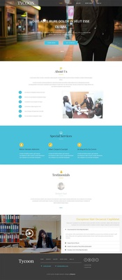 Tycoon a Corporate Category Flat Bootstrap Responsive Web Template