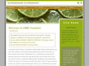 Limes Free CSS Template