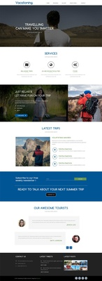 Vacationing a Travel Category Flat Bootstrap Responsive Web Template