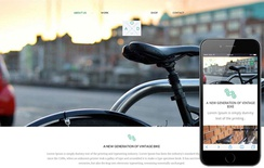 Bicycle a Product Based Flat Responsive web template
