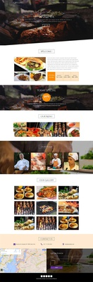Grilling a Restaurant Category Bootstrap Responsive web Template