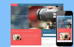 Photographer a Photo Gallery Flat Bootstrap Responsive Web Template