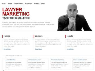 Lawyer Marketing Free CSS Template
