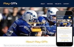 Play Offs a Sports Category Flat Bootstrap Responsive Web Template