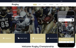 Rugby a Sports Category Flat Bootstrap Responsive Web Template