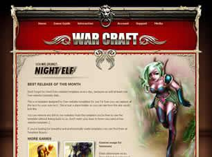World of Warcraft Free CSS Template