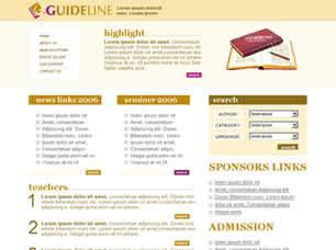 Guideline Free CSS Template