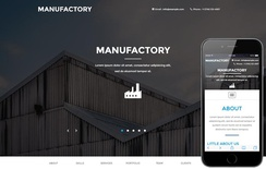 Manufactory a Industrial Category Flat Bootstrap Responsive Web Template
