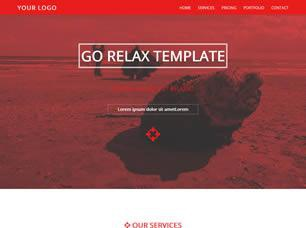 Relax Free CSS Template