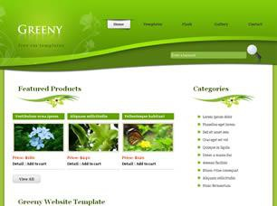 Greeny Free CSS Template