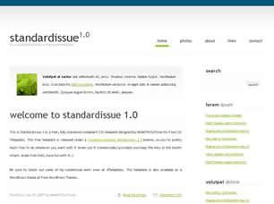 StandardIssue 1.0 Free CSS Template