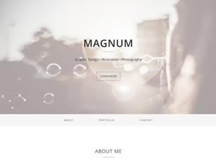 Magnum Free CSS Template