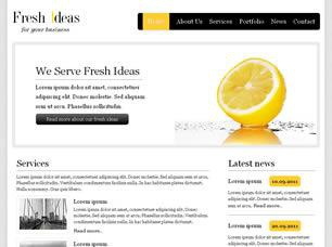 Fresh Ideas Free CSS Template