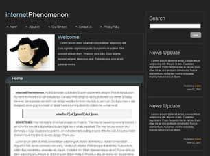 internetPhenomenon Free CSS Template