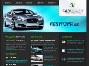 CarDealer Free CSS Template