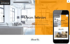 Decor Interior an Interior & Furniture Bootstrap Responsive Web Template
