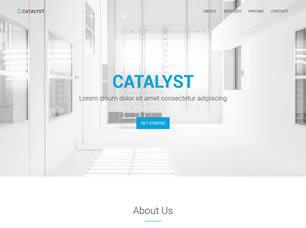 Catalyst Free CSS Template