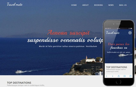 Travel Mate a Travel Category Flat Bootstrap Responsive web template