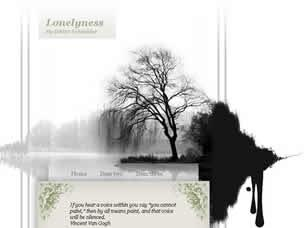 Lonelyness Free CSS Template