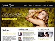 Fashion Brand Free CSS Template