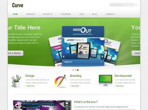 Curve Free CSS Template