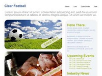 Clear Football Free CSS Template