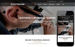 Electrician an Industrial Category Bootstrap Responsive Web Template