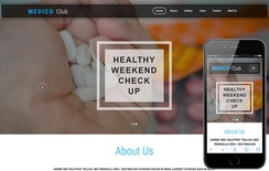 Medico Club a Medical Category Bootstrap Responsive Web Template