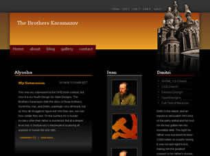The Brothers Karamazov Free CSS Template