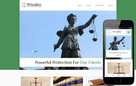 Privatio a Social Flat Bootstrap Responsive Web Template