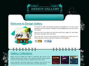 Design Gallery Free CSS Template